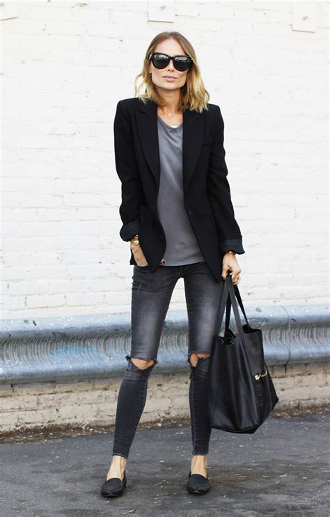 Blazer Denim How To Style Your Blazer And Tips For Just