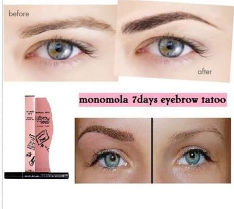 Monomola Eyebrow Tatoo 7 Days 7 days eyebrow tatoo unique fashion i web trgovina ženske odjeće