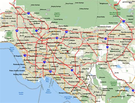 map of usa los angeles maps of the usa the united states of america map