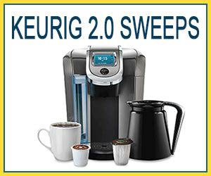 Keurig Sweepstakes - keurig 2 0 k550 brewing system giveaway 2 winners each prize a 200 value my 3