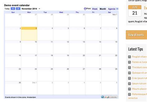 themes google calendar personal development wordpress theme premium template