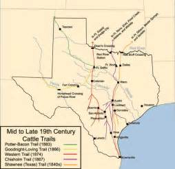 texas forts map frontier forts texas cattle trails history texas and texas history