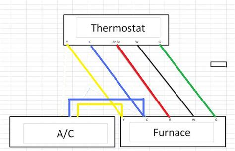 thermostat wiring diagram 4 and 5 wire thermostat get