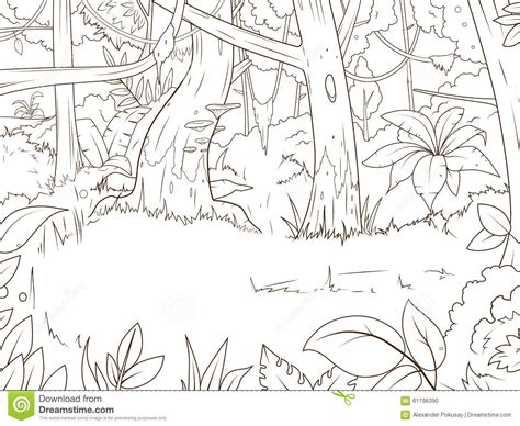 rainforest background coloring page jungle background coloring pages coloring page