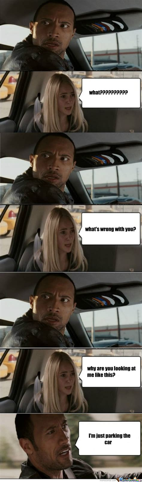 The Rock Meme Car - i miss the rock memes by recyclebin meme center
