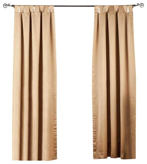 taupe blackout curtains taupe tab top 90 blackout curtain drape panel 50w x