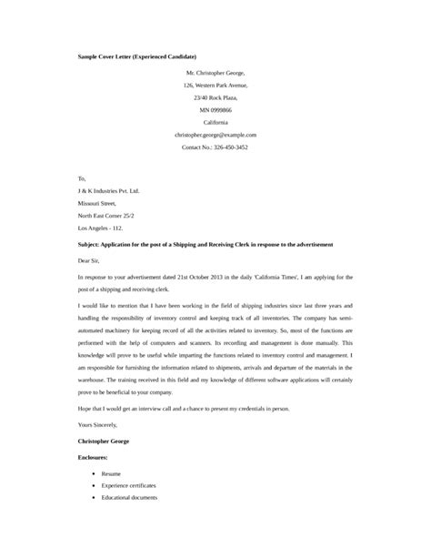 stunning cover letters format for resume logistics clerk cover letter sarahepps