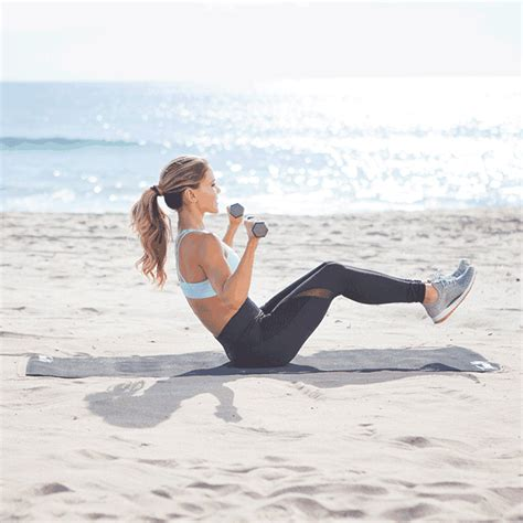 boat pose chest press tone and sculpt your entire body with these 5 moves