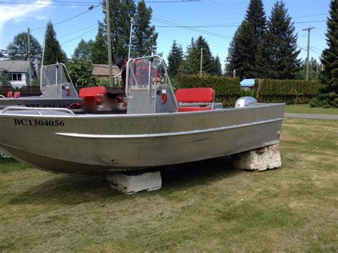 used aluminum fishing boats for sale bc 17 5 welded aluminum boat outside victoria victoria