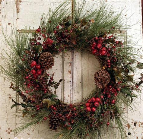 Winter Door Decorating Ideas - 20 christmas wreath ideas