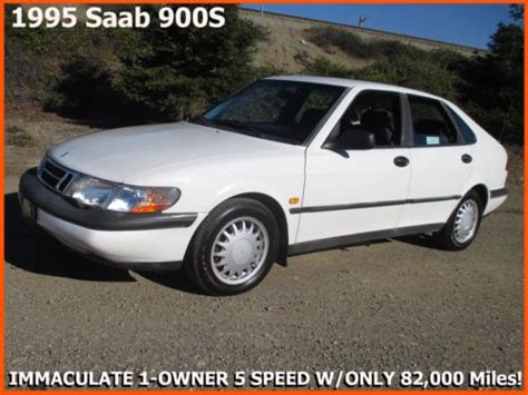 how make cars 1995 saab 900 engine control sell used 1995 saab 900s mint one owner 5 speed non turbo only 82 000 original miles in san