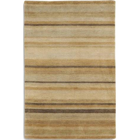 regatta striped beige rug