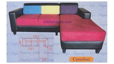 Jual Sofa Bed L Minimalis jual sofa minimalis l sudut carnelian sale promo