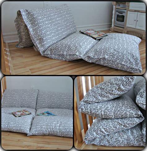 fabriquer un canapé avec un matelas 1000 id 233 es sur le th 232 me matelas oreillers sur
