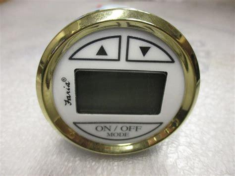 digital depth gauge for boats ds0107a faria marine boat digital depth finder gauge 2