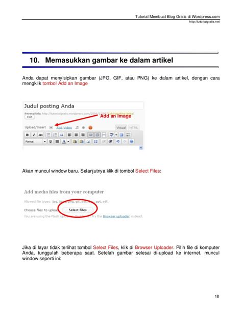 tutorial membuat blog gratis tutorial membuat blog gratis di wordpress com baru
