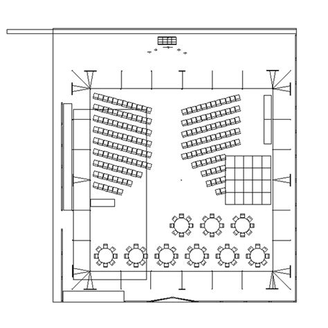 wedding floor plans cad tent layout for wedding ceremony and reception in