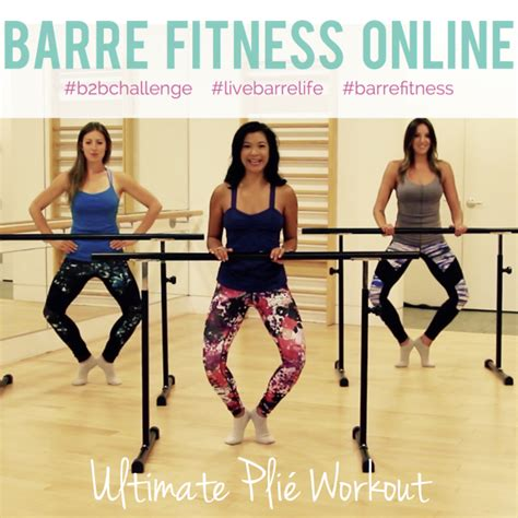 Fitness Barre Cranberry 2 by New Ultimate Pli 233 Thigh Workout Barre Fitness