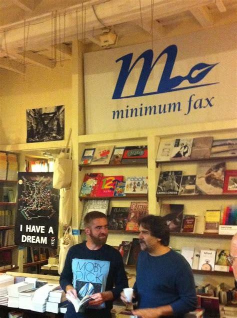 libreria minimum fax alla libreria minimum fax a roma con marco cassini foto