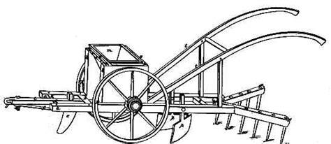 Henry Blair Corn Planter by Seed Planter U S Patent X8447