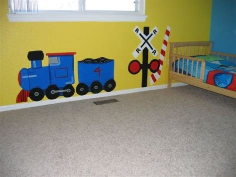 train themed bedroom for toddler best 36 train decorations for boys room images on