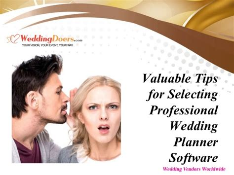Professional Wedding Planner by Valuable Tips For Selecting Professional Wedding Planner
