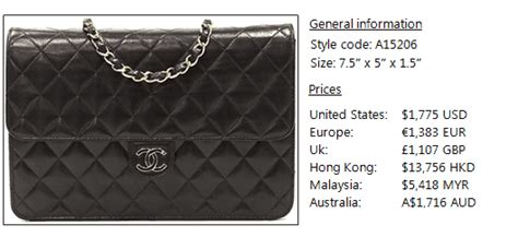 Harga Chanel Wallet On Chain chanel woc wallet on chain prices 2012 bragmybag