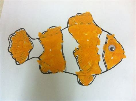Orange Craft Paper - color crafts orange color and crepe paper on