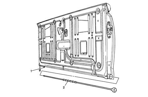 Repair Instructions Endgate Torque Rod Replacement