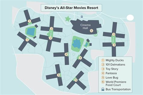 all resort map preferred rooms disney s all resort walt disney world undercover tourist