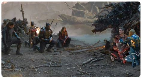 iron man death scene avengers tribute deleted scene
