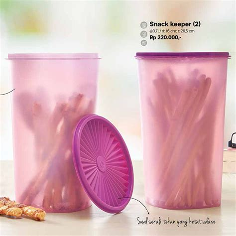 Snack Keeper Tupperware snack keeper tupperware indonesia terbaru katalog promo