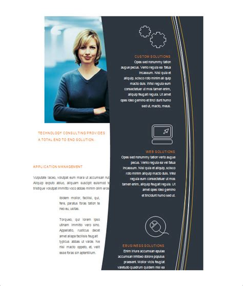 tri fold brochure publisher template unique fold brochure templates