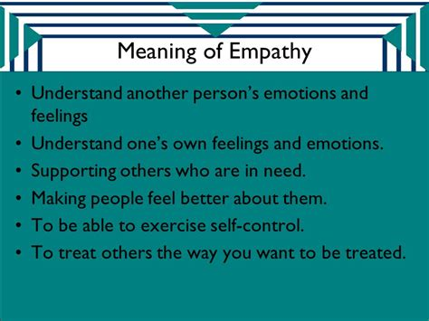 own selves meaning why empathy matters by mrs irina stepanyan ppt