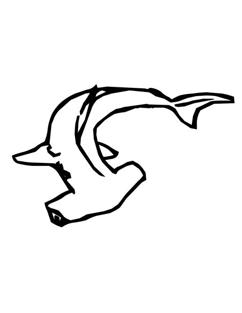 free coloring pages of hammerhead sharks