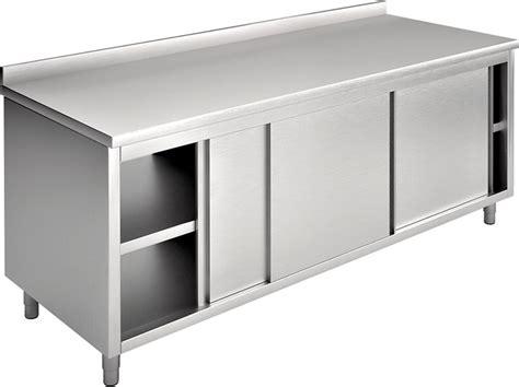 armadio altezza 160 tavolo armadio con alzatina 160x70 cm professionale ea16a1