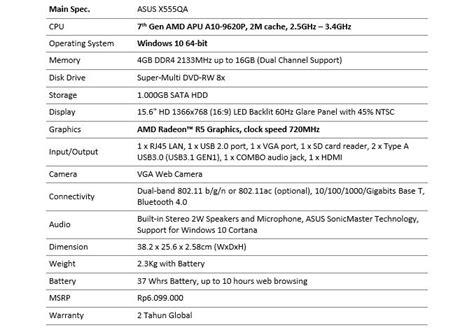 Laptop Asus Dengan Prosesor Amd tips memaksimalkan kerja dengan laptop asus amd x555qa