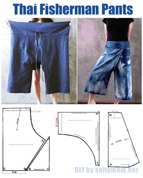 pattern maker thailand diy thai fisherman pants with free pattern download
