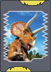 Dinosaur king alpha scanner triceratops png dinosaur images frompo