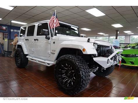 jeep sahara 2017 colors 2017 bright white jeep wrangler unlimited sahara 4x4