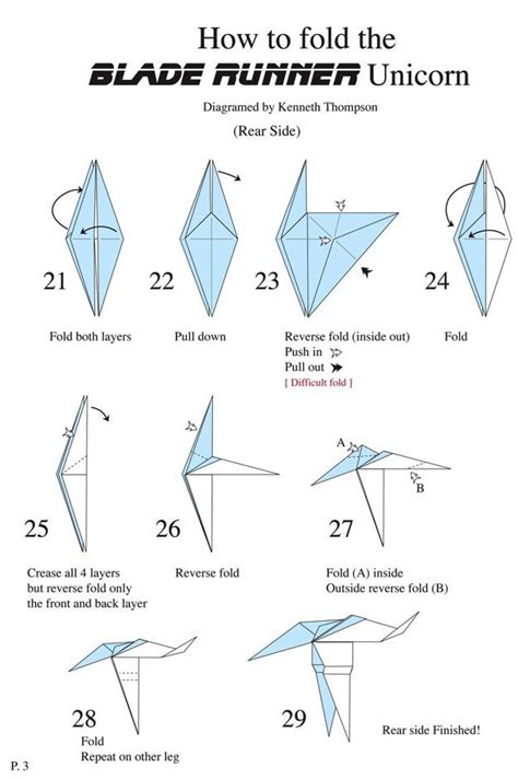 How To Make A Origami Unicorn - origami mauro diagrammi modelli ospiti origami