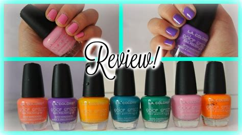 La Nail Colorpop la colors nail review demo