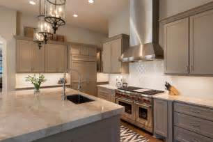Kitchen Subway Backsplash Beige Tile Countertop Kitchen Traditional With Beige