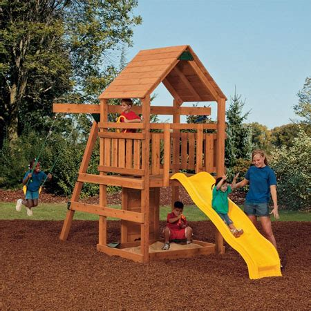 backyard swings for kids powerhouse swing set offers theme park fun for your kids