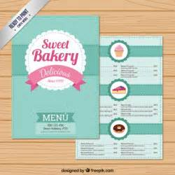 free bakery menu templates sweet bakery menu template vector free