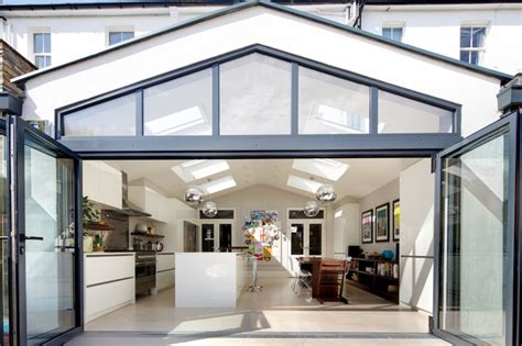 Loft Conversion Bathroom Ideas rear extension and velux sw13