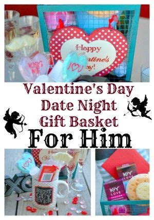s day date gift basket for him