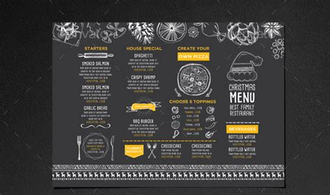 Rustic Kitchens Designs by 45 Menu Design Projects For Creative Amp Fun Restaurants
