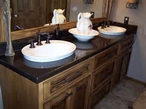 bathroom vanity countertops sink bathroom vanities by crane concrete counters