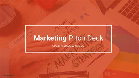 marketing deck template modern pitch presentation templates presentations template